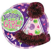 Birthday Girl Big Fun Button
