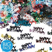 Metallic Happy Birthday Confetti 2 1/2oz