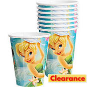 Tinker Bell and the Fairies Cups 8ct