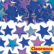 Iridescent Blue Star Table Sprinkles 60ct