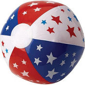 Stars & Stripes Beach Ball 20in