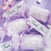 Lavender Wrapper Wedding Favor Kit 12ct