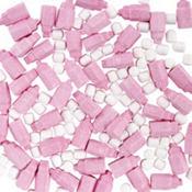 Pink Bottle Shaped Baby Shower Favor Candy 12oz