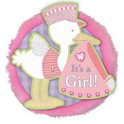 It's a Girl Big Fun Button