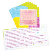 Napkin Trivia Baby Shower Game 24ct