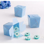 Blue Mini Baby Shower Favor Pails 12ct