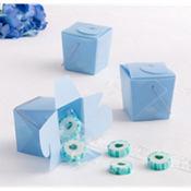 Blue Mini Baby Shower Favor Pails 12ct