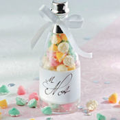 Champagne Bottle Wedding Favor Kit 24ct