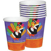 Fun Turkey Cups 8ct