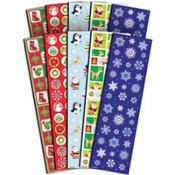 Christmas Stickers Big Pack 5 Sheets