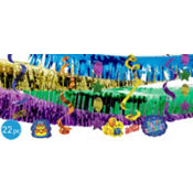 Balloon Fun Happy Birthday Giant Decorating Kit 21ct