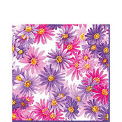 Aster Purple Lunch Napkins 20ct
