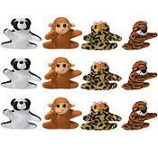 Mini Plush Animals 12ct