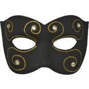 Black Rheinlander Masquerade Mask