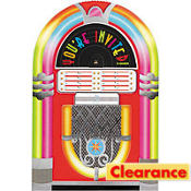 Juke Box Jumbo Invitations 8ct