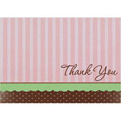Oh So Chic Thank You Notes 8ct