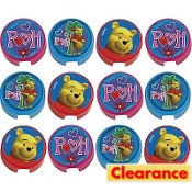 Winnie the Pooh Pencil Sharpeners 12ct