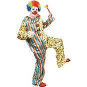 Adult Clown Jumpsuit Costume