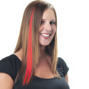 Flaming Red Hair Strip
