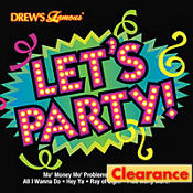 Lets Party Music CD