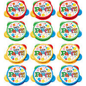 Mini Party Tambourines 12ct