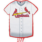 St. Louis Cardinals Pull String Pinata 23in x 18in
