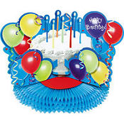 Birthday Deluxe Honeycomb Centerpiece 12in