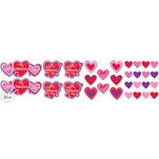Valentines Day Heart Cutouts 30ct