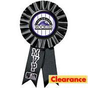 Colorado Rockies Award Ribbon