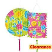 Summer Fun Paper Lanterns 2ct