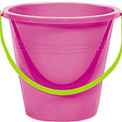 Magenta Large Pail 9in
