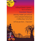 Haunted Hill Custom Invitation