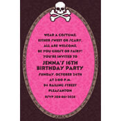 Pretty in Pink Custom Invitation