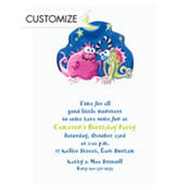 Monsters Custom Invitation