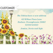 Sunflowers Custom Invitation