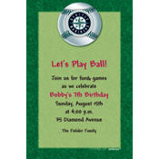 Seattle Mariners Custom Invitation