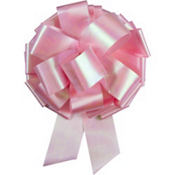 Pink Iridescent Bow 10in