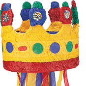 Pull String Crown Pinata