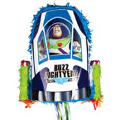 Pull String Buzz Lightyear Pinata 22in