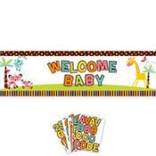Fisher Price Baby Shower Custom Giant Sign Banner 5 1/2ft