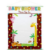 Fisher Price Shower Sign In 18in x 23in