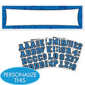 Blue Personalized Banner