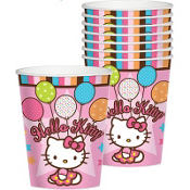 Hello Kitty Balloon Dreams Cups 8ct
