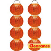 Glitter Pumpkin Favor Containers 8ct