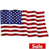 American Spirit Flag Cutout