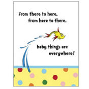 Dr. Seuss Baby Shower Invitations 8ct