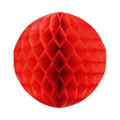 Red Honeycomb Ball 11in