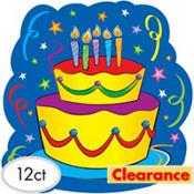 Happy Birthday Cake Cutout