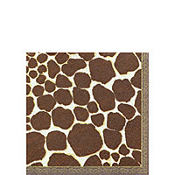 Giraffe Beverage Napkins 16ct
