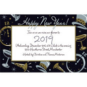 Black Tie Affair Custom Invitation